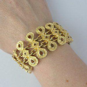 Vintage Gold Link Bracelet
